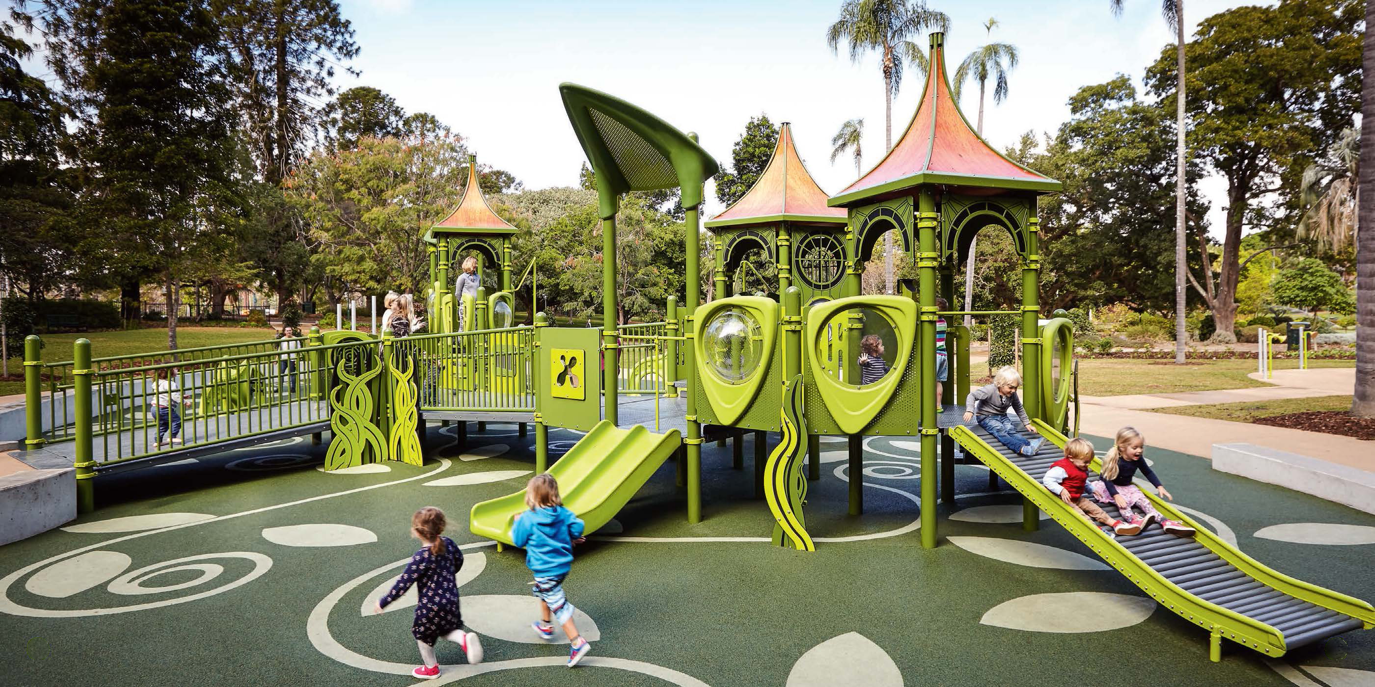 Playground best place to spend time and get relaxation for Playground equipment ideas