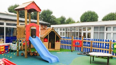 school playground equipments